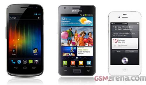 """Apple và Samsung """"kẻ thù cùng tiến"""" - 1"""