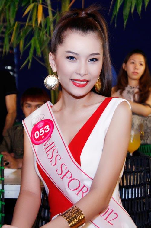 Siêu vòng 3 vào chung kết Miss Sport - 1