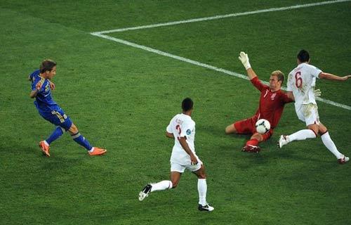Pha bóng tranh cãi trận Ukraine – Anh - 1