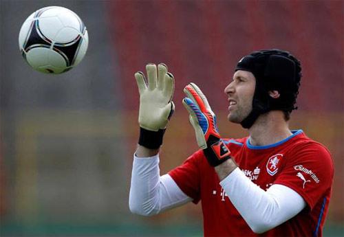 CH Séc: Khi Cech gặp lại CR7 - 1