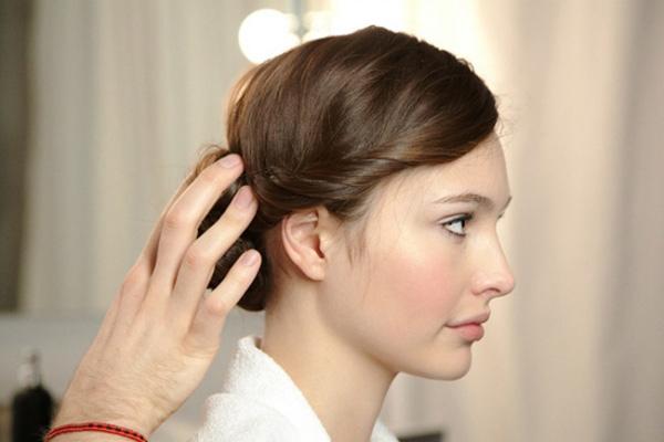 Khác lạ với tóc vấn thời trang - 1