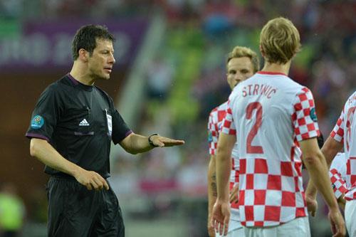 """4 trọng tài tại Euro 2012 bị """"sa thải"""" - 1"""