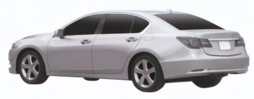 Acura RLX 2013: Xế sang lộ diện - 1