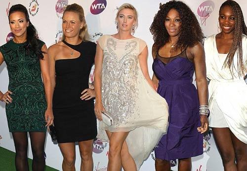 Sharapova & kiều nữ làng banh nỉ khoe sắc ở Wimbledon - 1