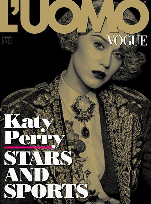 Katy Perry khao khát được như Madonna - 1