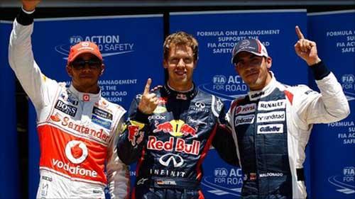 Phân hạng European GP: Gọi tên Vettel - 1