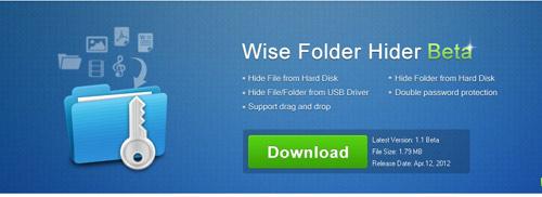 Dễ dàng ẩn các tập tin / thư mục trên ổ cứng hay USB với Wise Folder Hider - 1