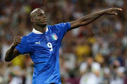 """Vua phá lưới Euro: """"Tiếng thét"""" của Balotelli - 1"""