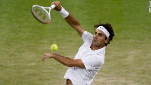 Federer thở phào, thừa nhận may mắn - 1