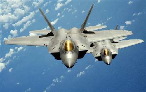 Mỹ điều chiến đấu cơ F-22 tới Hàn Quốc - 1