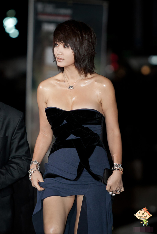 Trunk kim hye soo breast white