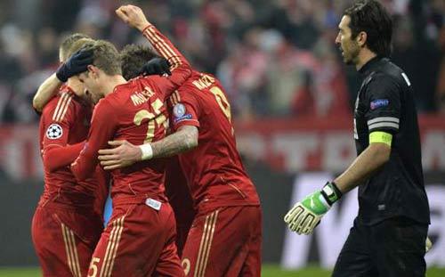 """Juve """"tâm phục khẩu phục"""" Bayern - 1"""