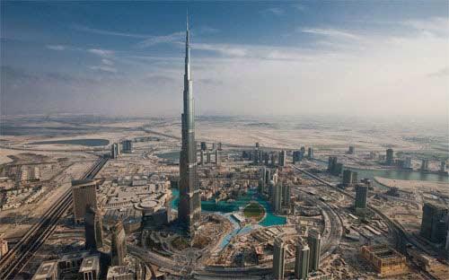 Nóng cuộc đua xây tòa tháp cao nhất thế giới - 1