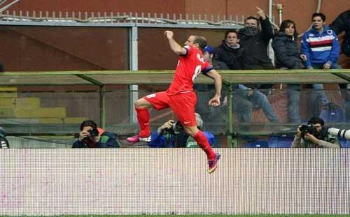 Sampdoria – Inter: Nỗ lực hết mình - 1