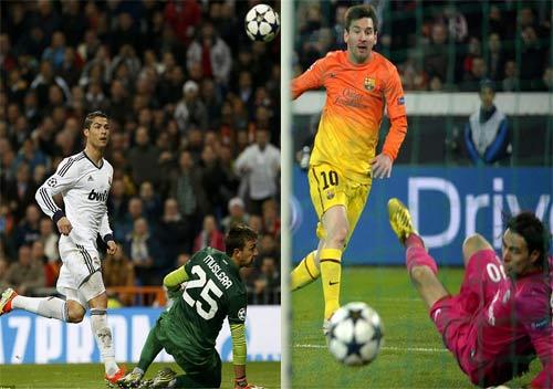 Vua phá lưới C1: Song mã Ronaldo - Messi - 1