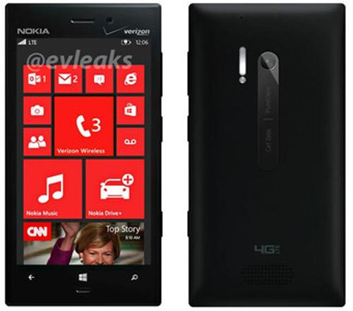 Nokia Lumia 928 lộ vỏ nhôm nguyên khối - 1