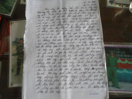 Nhật ký của nữ sinh mang bầu bị bạn trai giết - 1