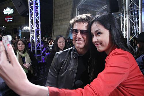 Mai Phương Thúy nhí nhảnh bên Tom Cruise - 1