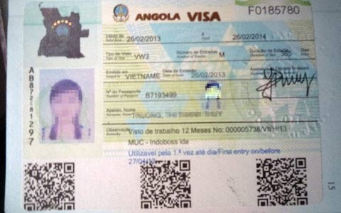 Nghẹt thở cứu nữ SV bị lừa đến Angola bán dâm - 1