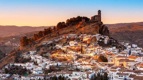 Thị trấn Trắng xinh đẹp ở Tây Ban Nha - 1