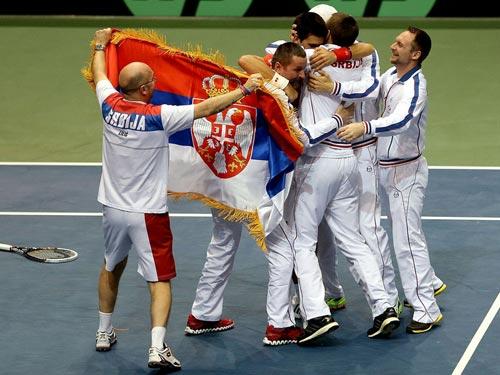 Davis Cup: Djokovic & những người hùng đặc biệt - 1