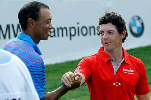 McIlroy hết lời ca ngợi Tiger Woods - 1