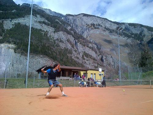 """Federer lên núi ở ẩn """"luyện công"""" - 1"""