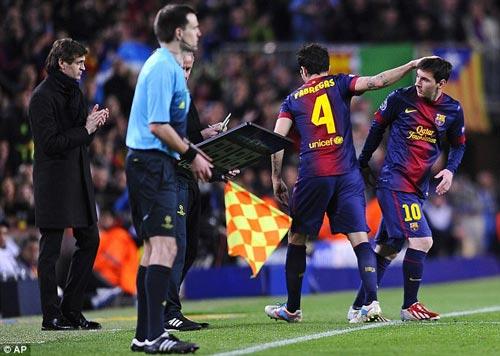 """Roura thừa nhận Barca """"sống"""" nhờ Messi - 1"""
