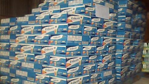 Thu giữ hơn 5000 chai sữa nước nhập lậu - 1