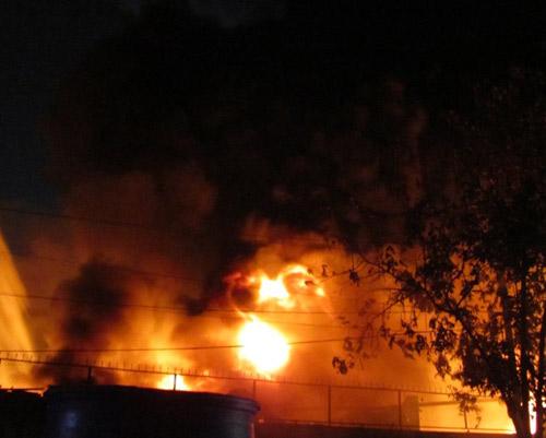 Công bố thiệt hại vụ cháy tổng kho Sacombank - 1