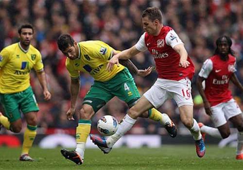 Arsenal - Norwich: Đánh chiếm tốp 3 - 1