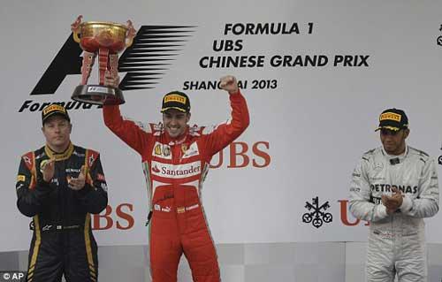 F1-Chinese GP: Gọi tên Alonso! - 1