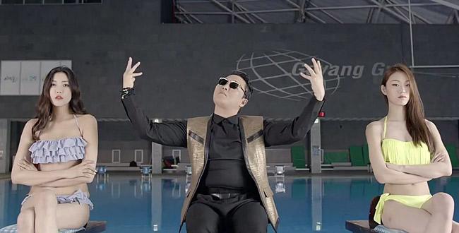 """Bùng nổ các clip nhại """"em trai Gangnam Style"""" - 1"""