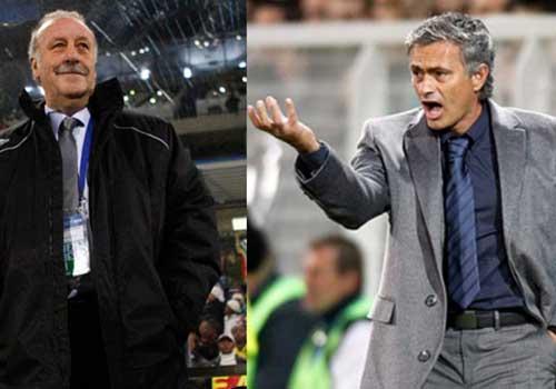 "Mourinho ""đè bẹp"" Del Bosque - 1"