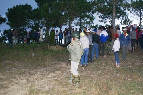 Nam thanh niên chết cháy ở đồi thông Đà Lạt - 1
