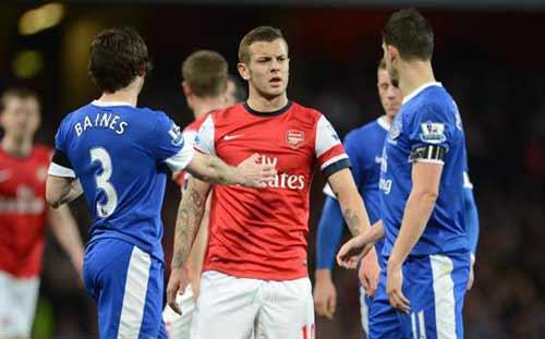 Arsenal hòa, Wenger chê trách trọng tài - 1