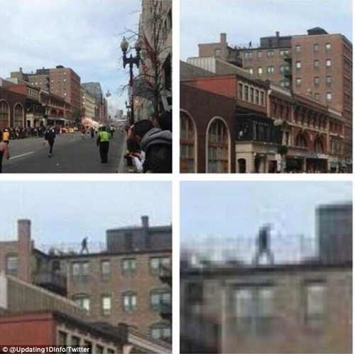 Vụ đánh bom ở Mỹ: Người bí ẩn trên mái nhà - 1