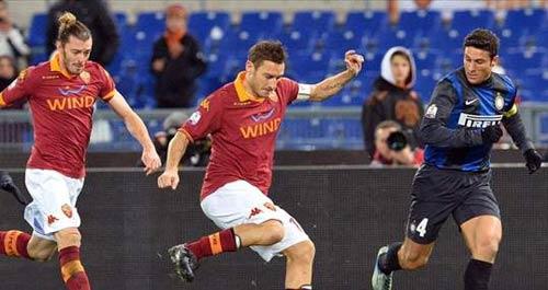Inter - Roma: Khó cho chủ nhà - 1