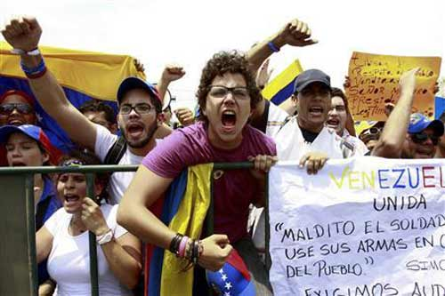 TT Venezuela cáo buộc phe đối lập đảo chính - 1