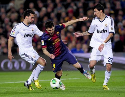Cesc tin El Clasico ở chung kết C1 - 1