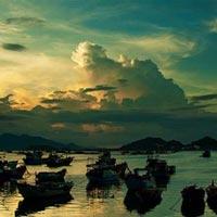 Say cảnh tuyệt sắc trong vịnh Cam Ranh