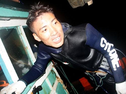 Một đêm lặn biển cùng ngư dân Lý Sơn - 1