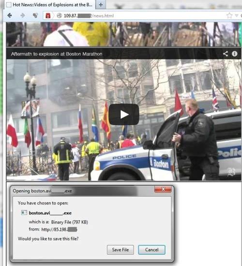 Phát tán virus nhân vụ đánh bom ở Boston - 1