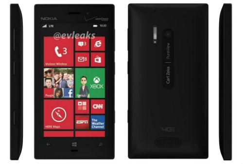 Nokia Lumia 928 lộ ảnh thực tế - 1