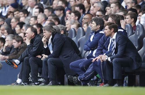 Thất bại, Mancini chúc mừng...MU - 1