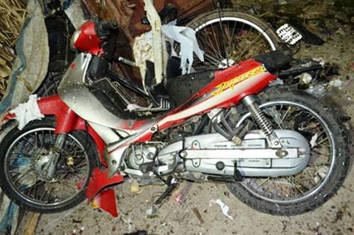 Nổ xe máy: Mẹ chú rể phủ nhận cấm yêu - 1