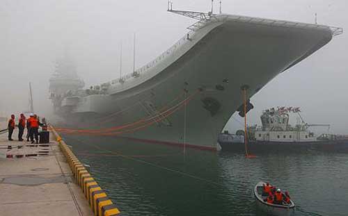 TQ sẽ chế tạo tàu sân bay lớn hơn - 1