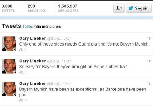 "Lineker ""châm chọc"" Barca sau thảm bại - 1"