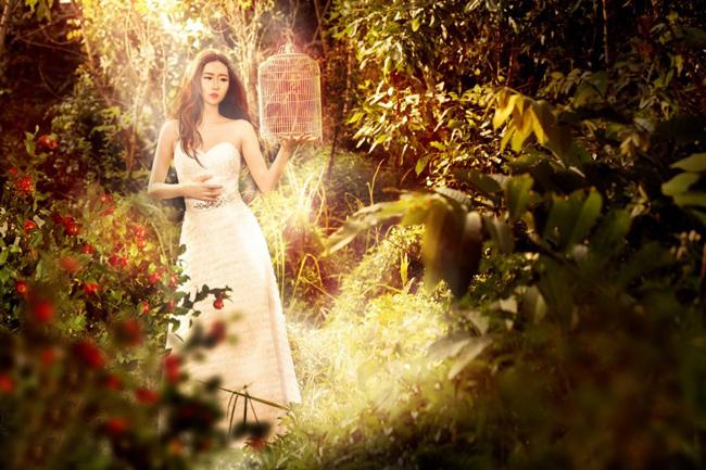 Ngắm hình ảnh lạ lẫm của 'cô dâu' Nu Phạm