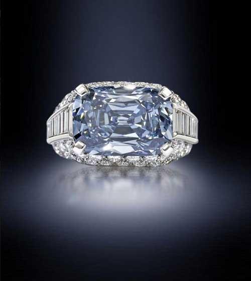 Kim cương xanh cực hiếm giá 200 tỷ đồng - 1